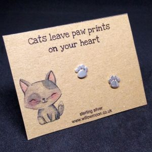 Cats leave paw prints on your heart