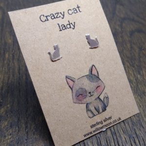 Crazy cat lady – grey cat