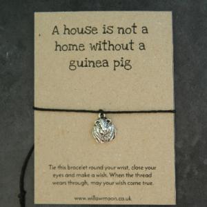 Guinea pig wish bracelet