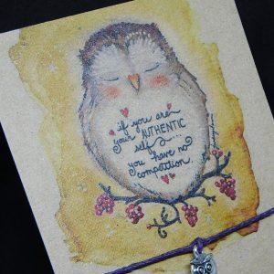 Owl wish bracelet